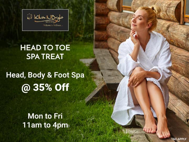 Body Massage in Thane - Head To Toe Spa Treat - White N Bright Spa